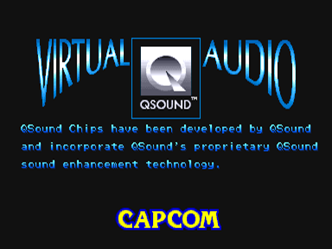 QSound logo screen